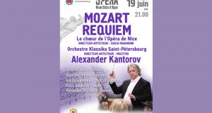 Invitation gratuite pour l'opéra Requiem de Mozart