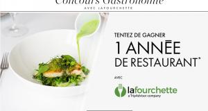 1 an de restaurant pour 2 personnes