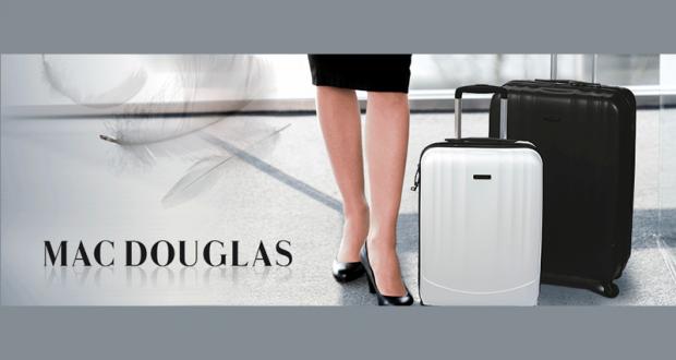 10 lots de 2 valises Mac Douglas