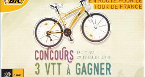 3 vélos VTT Bic (valeur unitaire 175 euros)