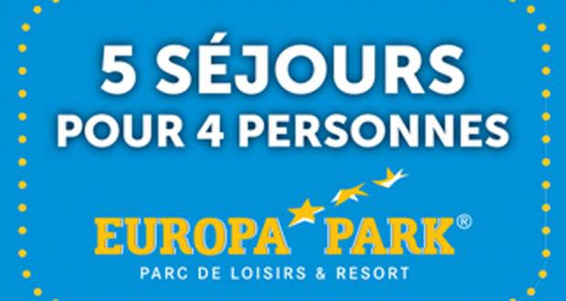 5 week-ends pour 4 au parc Europa-Park en Allemagne