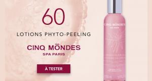 60 Lotions Phyto-Peeling de Cinq Mondes