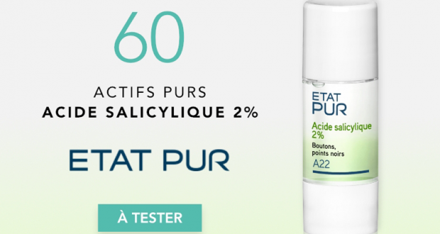 Actif Pur Acide salicylique 2% ETAT PUR