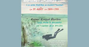 Baptême de plongée gratuit - Colmar Houssen