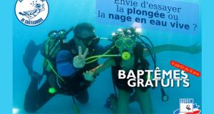 Baptême de plongée gratuit - Eté 2018 - Châteauroux