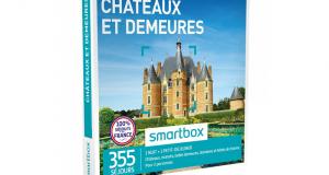 Chaque mois 1 coffret Smartbox Châteaux et demeures