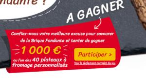 Chèque bancaire de 1000 euros