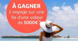 Chèque-voyage Auchan Voyages de 5000 euros