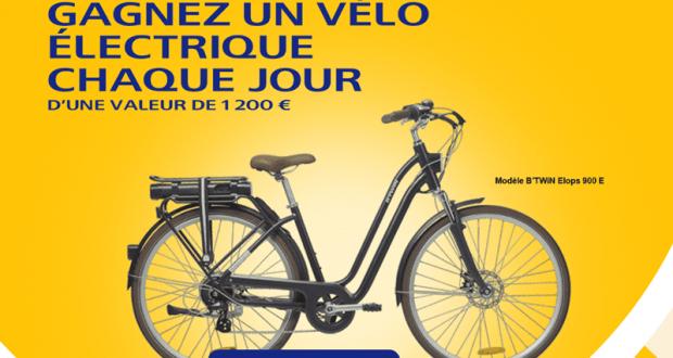 Gagnez Chaque jour un vélo électrique B'twin