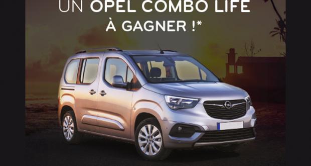 Gagnez une voiture Opel Combo Life Enjoy