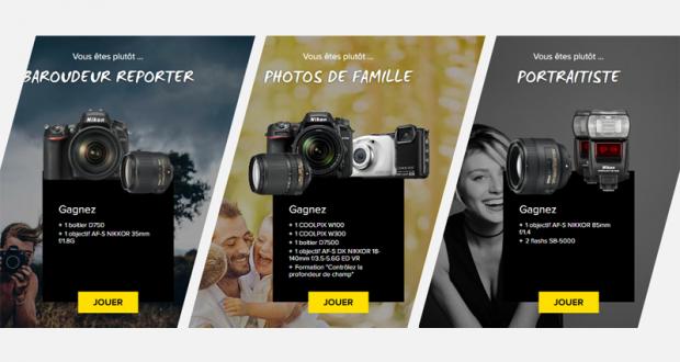 Lot de matériel photo Nikon au choix (valeur de 2800 euros)