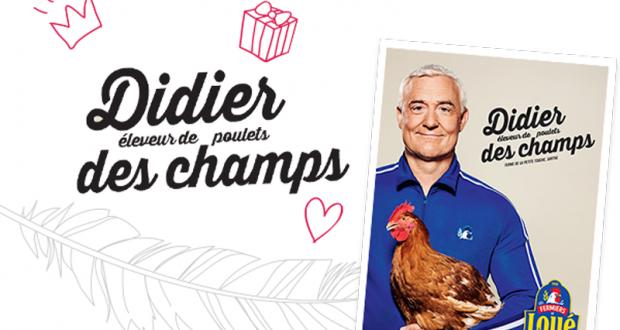 Recevez gratuitement un poster humoristique Didier des champs