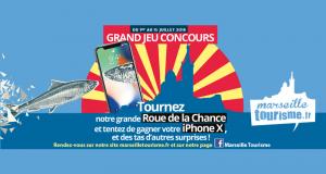 Smartphone iPhone X (valeur de 1159 euros)