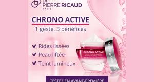 Testez la Crème Régénérante Jour Chrono Active de Dr Pierre Ricaud