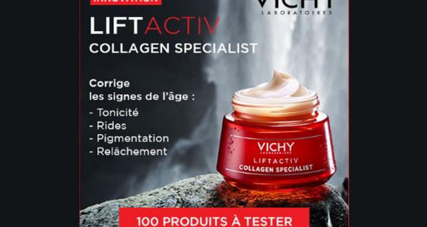 Testez la crème Liftactiv Collagen Specialist de Vichy