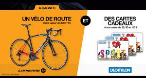 Vélo Lapierre (valeur 899 euros)