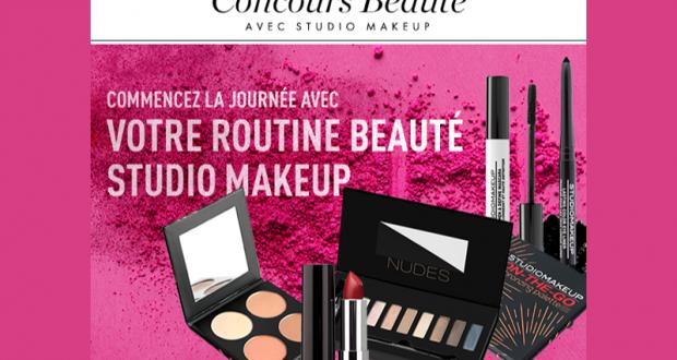 20 kits de 5 produits de maquillage Studio Makeup