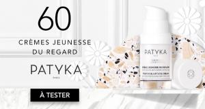 60 Crèmes Jeunesse Regard de Patyka