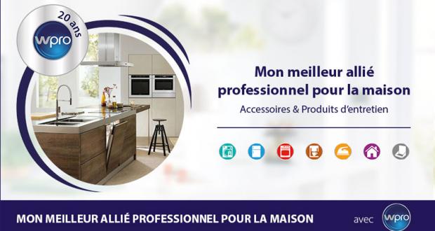 Accessoires et produits d'entretien professionnels Wpro
