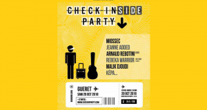Des invitations pour le festival Check in(side) Party