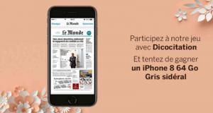 Gagnez Un smartphone iPhone 8