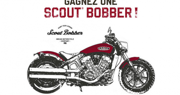 Gagnez une Moto Scout Bobber