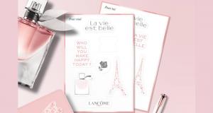 Stickers Lancôme offerts chez Marionnaud