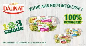 1.2.3 Salade Daunat 100% Remboursé