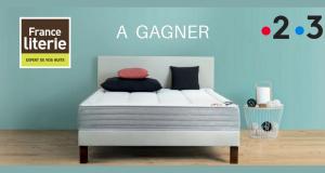 2 ensembles de literie matelas 140cm + sommier + tête de lit