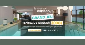 5 lots de 3000 euros pour l'installation d'une chaudière