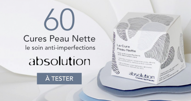 60 Cures Peau Nette anti-imperfections Absolution