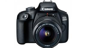 Appareil photo Reflex Canon EOS 4000D Noir avec objectif