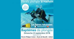 Baptême de plongée gratuit - Halluin