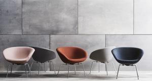 Fauteuil The Pot d'Arne Jacobsen