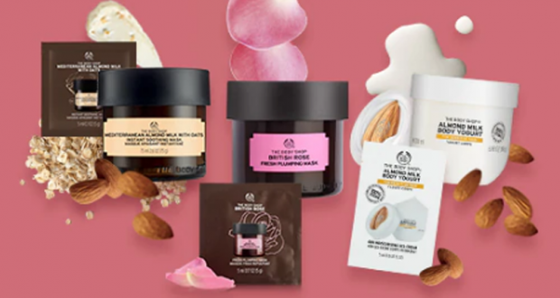 Kit d'échantillons gratuits The Body Shop