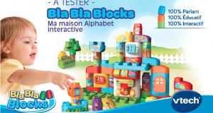 Testez la maison alphabet interactive de VTECH
