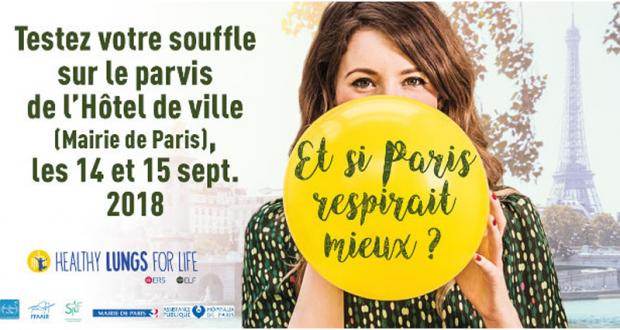 Testez votre souffle gratuitement - Paris