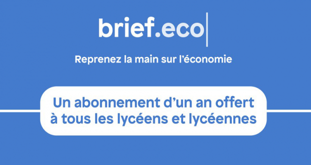 Un an d'Abonnement offert à Brief.eco