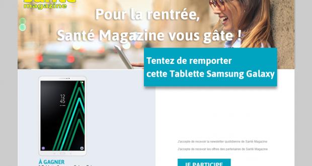 Une Tablette Samsung Galaxy Tab