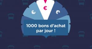 1 000 bons d'achat Ouibus à gagner chaque jour
