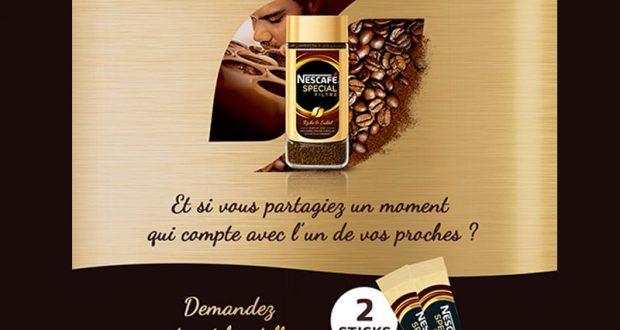 50.000 Échantillons Gratuits du Café Soluble Nescafé Spécial Filtre