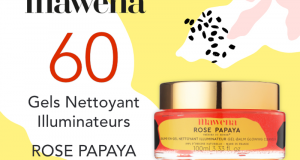 60 Gels Nettoyant Illuminateurs Rose Papaya de Mawena