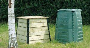 Distributions Gratuites de Composteurs en Bois ou Plastique