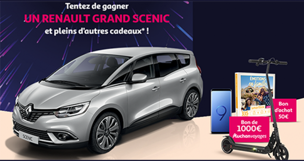 Gagnez une voiture Renault Grand Scenic