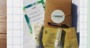 Mini-box d'échantillons L'armoire à beauté à recevoir gratuitement