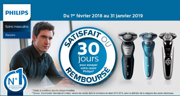 Rasoir Philips 100% Remboursé