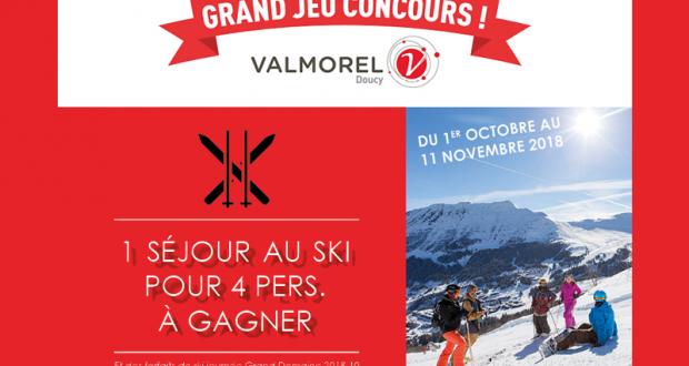 Séjour d'une semaine 4 à la station de ski de Doucy-Valmorel