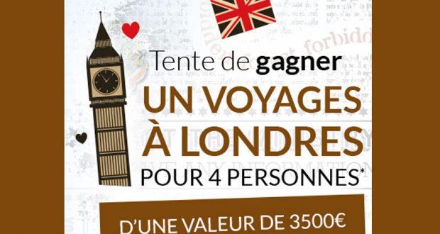 Voyage de 3 jours pour 4 personnes à Londres
