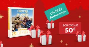2 bons voyage Auchan Voyages de 1000 euros