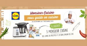 3 robots de cuisine Monsieur Cuisine Edition Plus